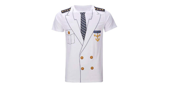 Men's Captain Costume T-Shirt (Photo: Amazon)