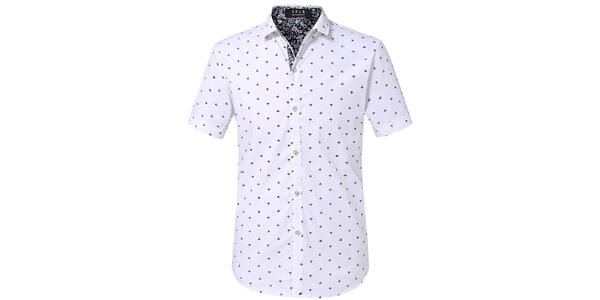 Men's Anchor Print Button-Down Shirt (Photo: Amazon)