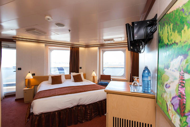 The Premium Vista Balcony Cabin on Carnival Dream