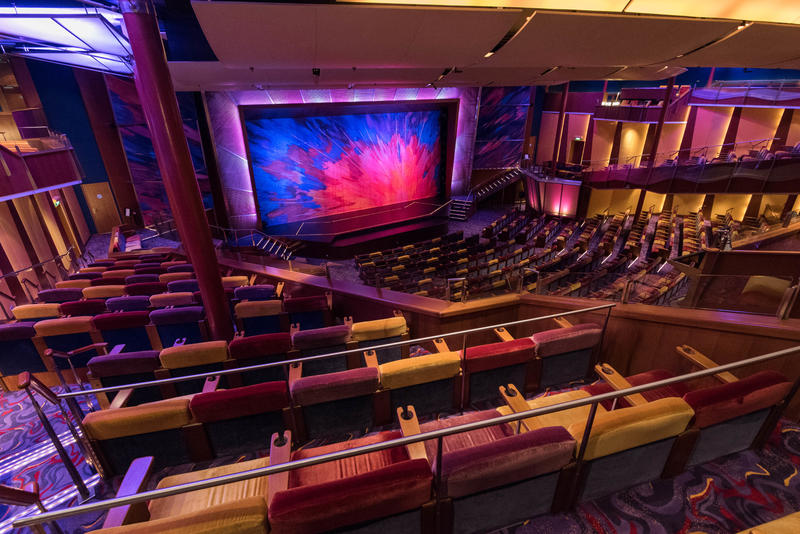 Pacifica Theater on Brilliance of the Seas