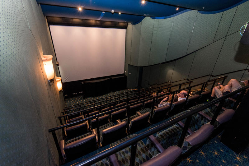 Cinema on Brilliance of the Seas