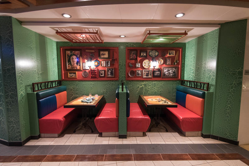 Rita's Cantina on Brilliance of the Seas