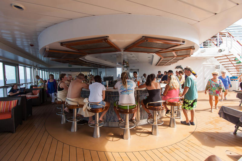Pool Bar on Celebrity Constellation