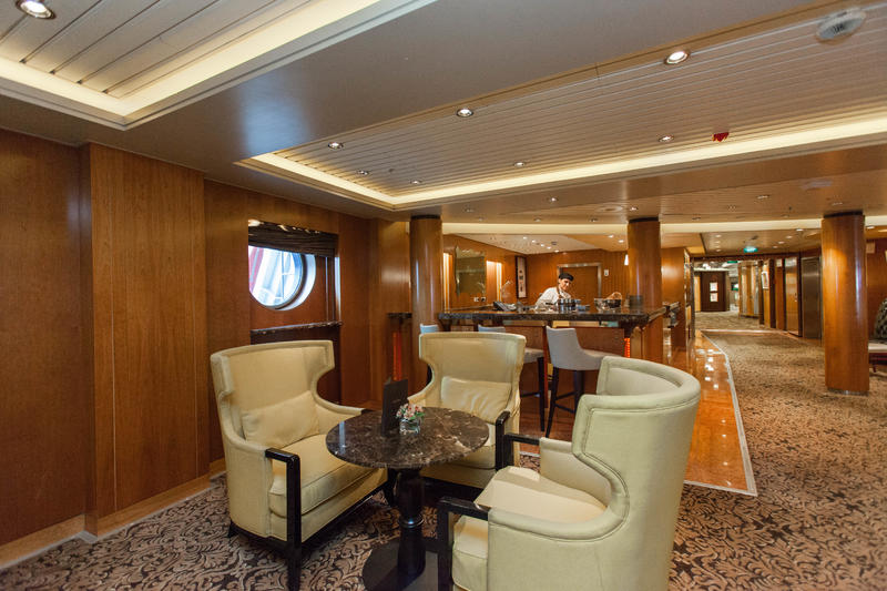 Cafe Al Bacio and Gelateria on Celebrity Constellation