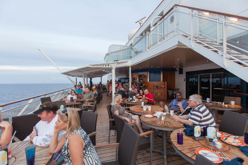 Sunset Bar on Celebrity Constellation
