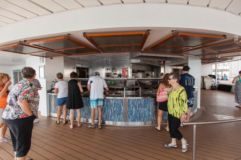 Pool Grill on Celebrity Constellation