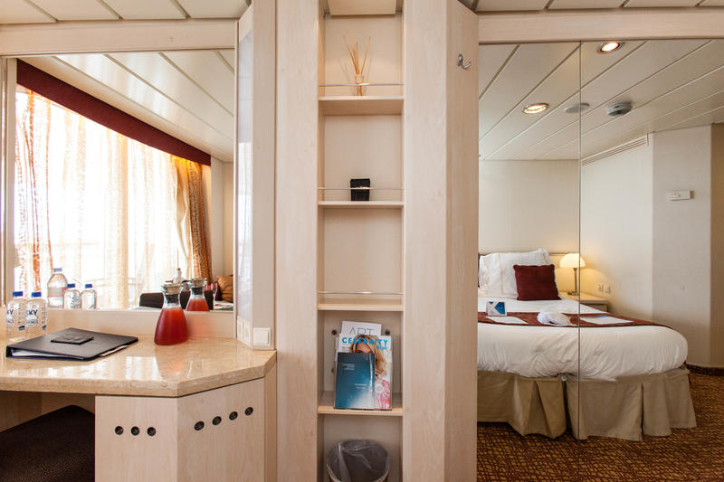 The Aqua Class Cabin on Celebrity Constellation