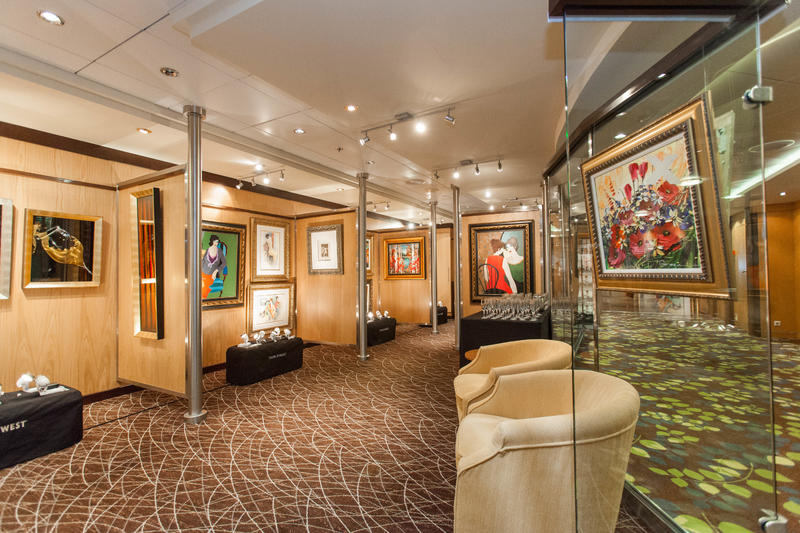 Art Gallery on Celebrity Constellation