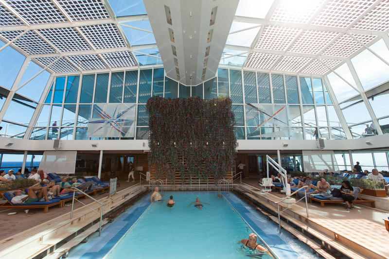The Solarium on Celebrity Equinox