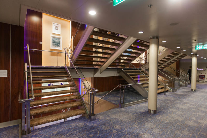 Stairs on Celebrity Equinox