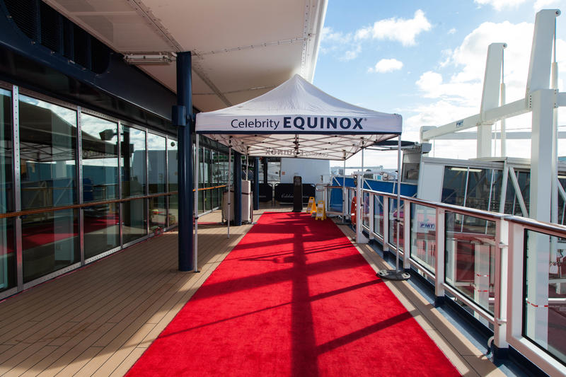 Boarding Area on Celebrity Equinox
