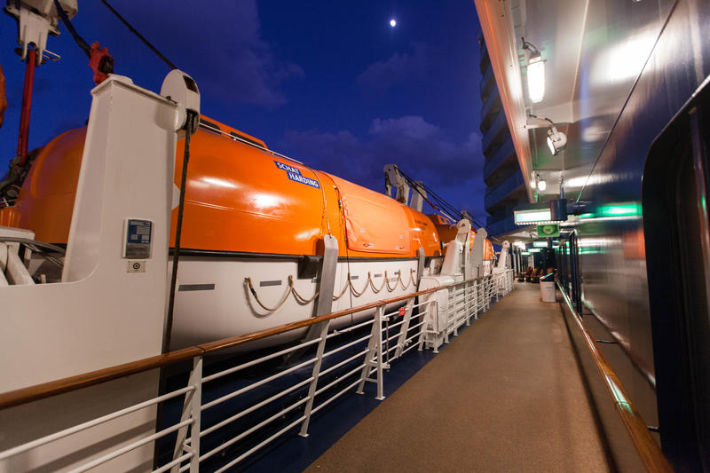 Tender Boat on Celebrity Equinox