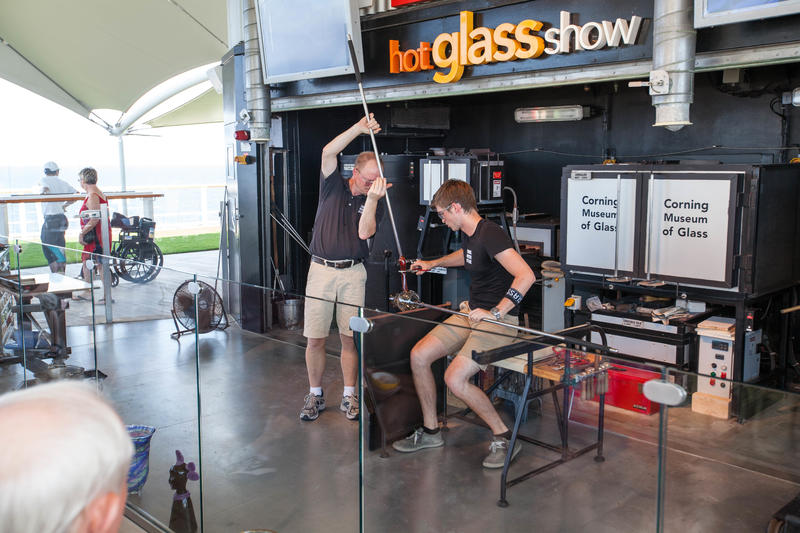 Hot Glass Show on Celebrity Equinox