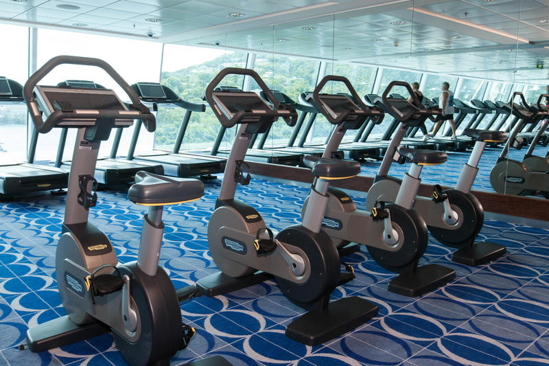Fitness Center on Celebrity Equinox