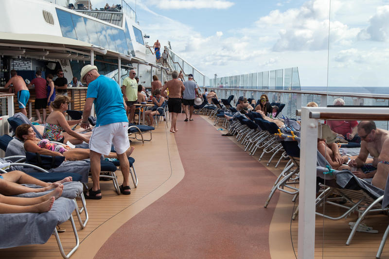 Jogging Track on Celebrity Equinox
