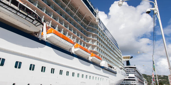 Lifeboats on Celebrity Equinox (Photo: Cruise Critic)