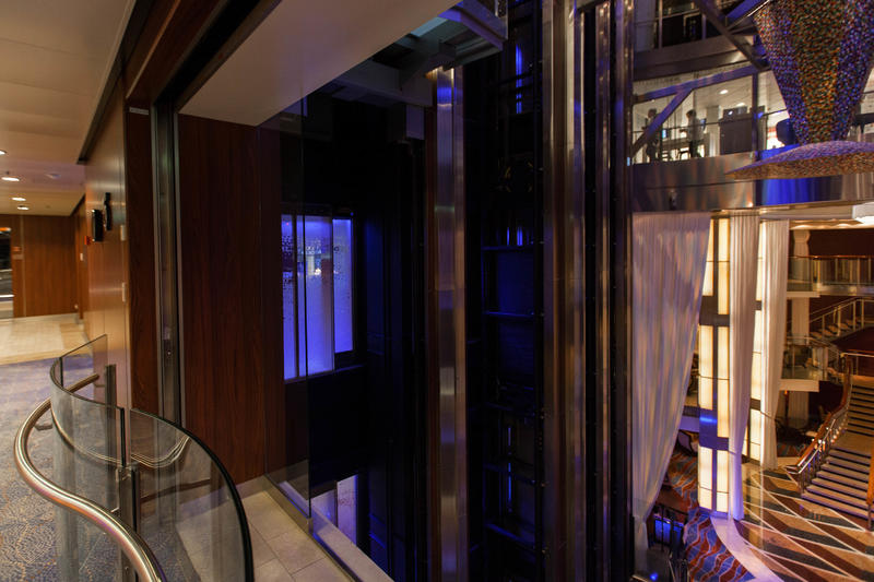 Elevators on Celebrity Equinox