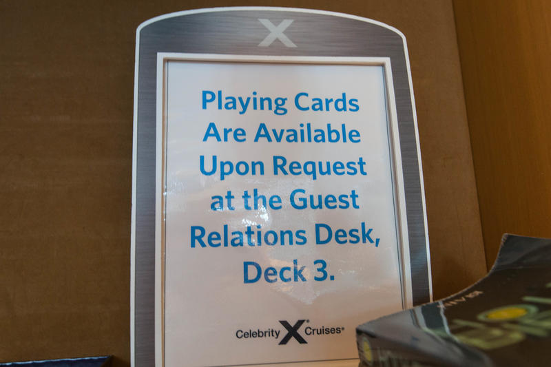 The Card Room on Celebrity Equinox