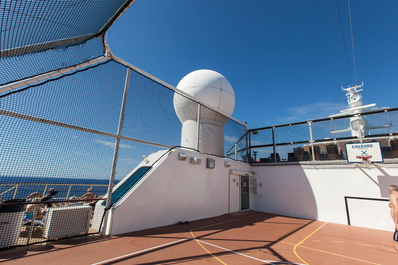Basketball Court on Celebrity Equinox