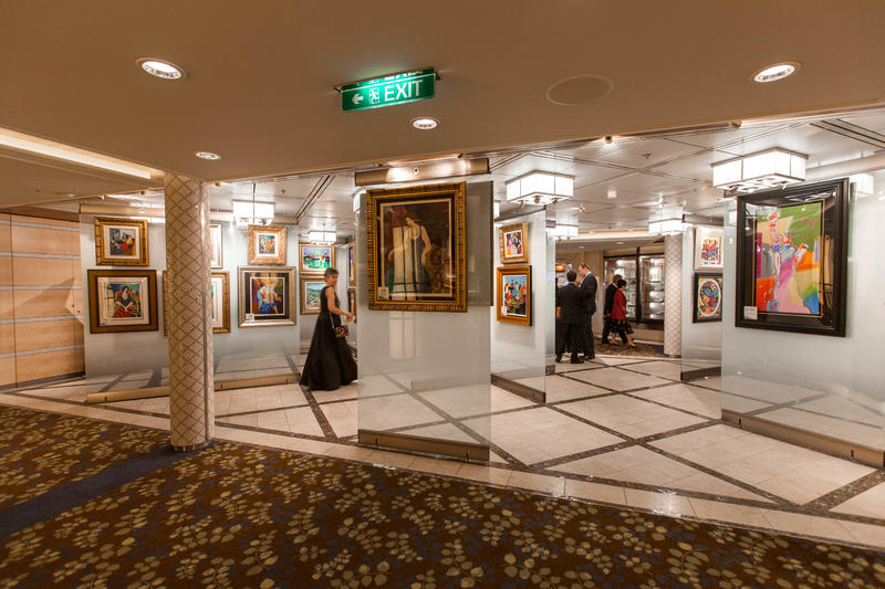 Art Gallery on Celebrity Equinox