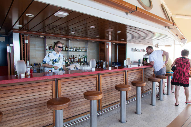 The Sunset Bar on Celebrity Equinox
