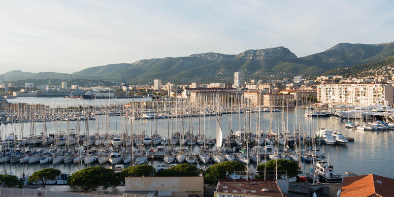 View of Toulon from Viking Star (Photo: Cruise Critic)