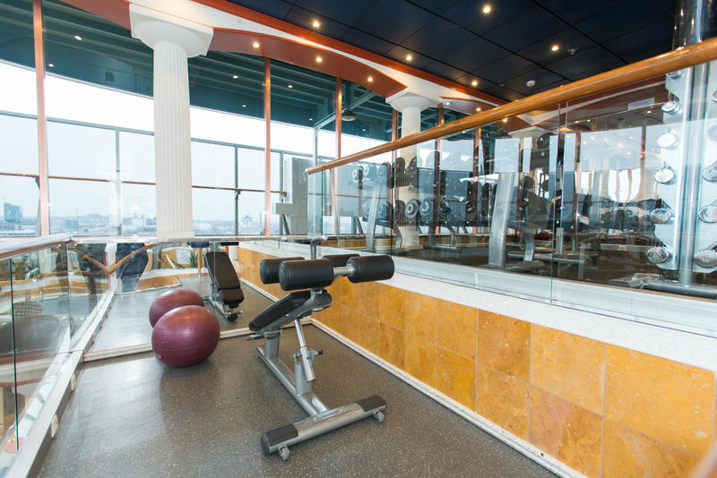 Fitness Center on Carnival Pride