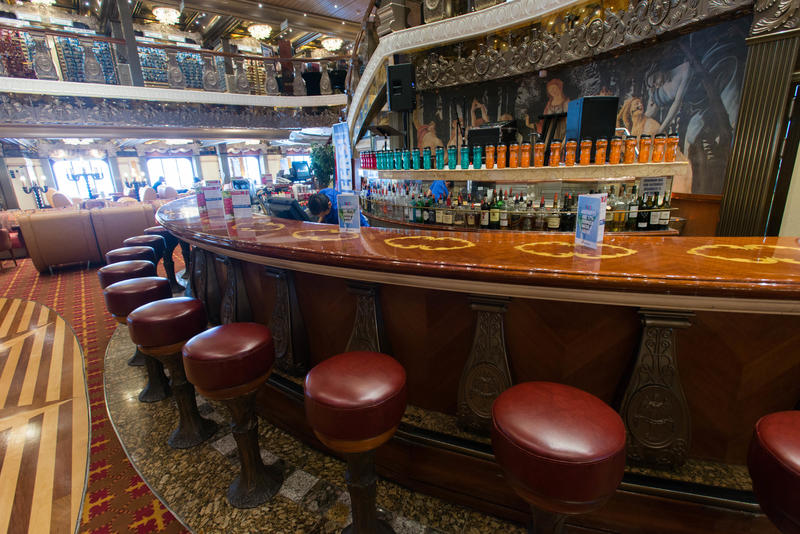 Renaissance Lobby Bar on Carnival Pride