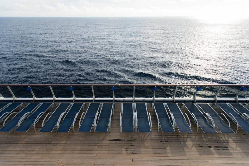 The Sun Decks on Carnival Pride