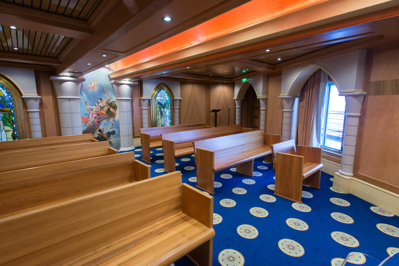 Wedding Chapel on Carnival Pride