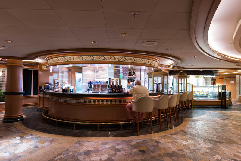 International Cafe on Crown Princess