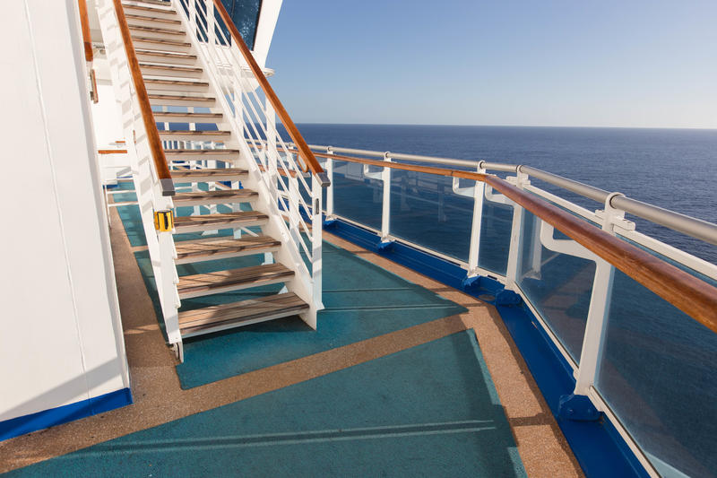 Stairs on Crown Princess