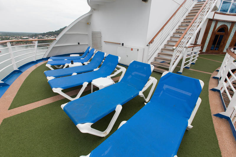 The Sun Deck 16 on Crown Princess