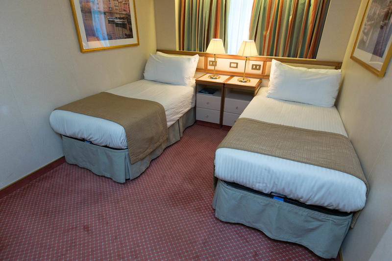 The Oceanview Cabin on Crown Princess