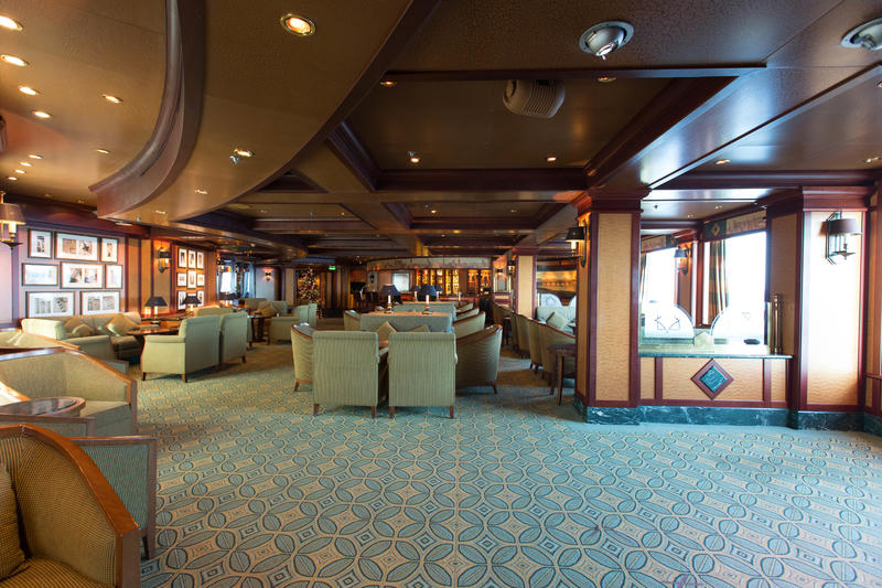 Explorer's Lounge on Crown Princess