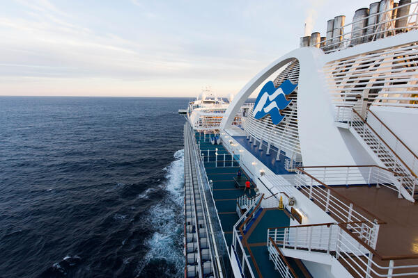 Exterior on Crown Princess (Photo: Cruise Critic)