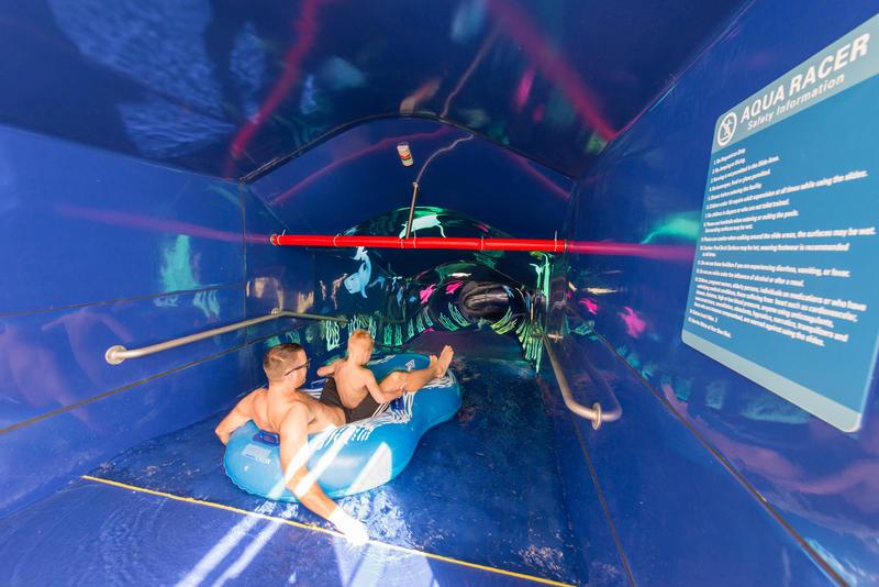 The Aqua Park on Norwegian Escape