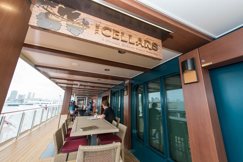 The Cellars Wine Bar on Norwegian Escape