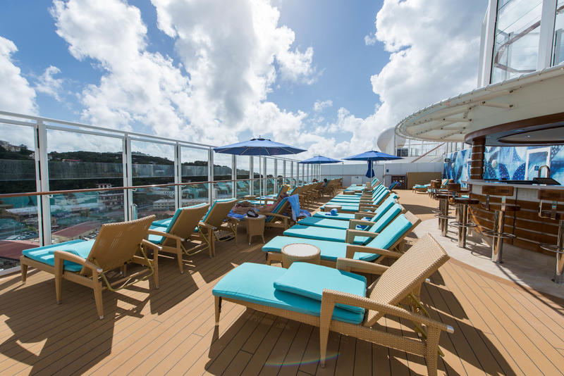 The Vibe Beach Club on Norwegian Escape