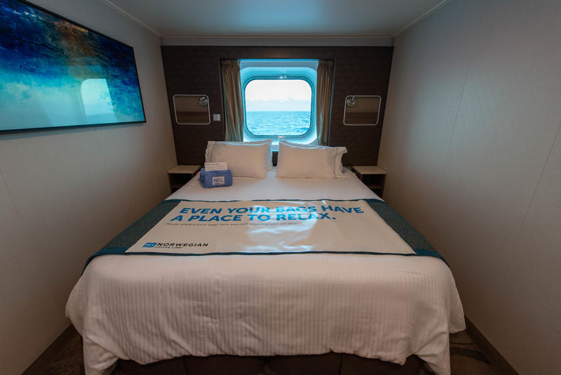 The Oceanview Cabin on Norwegian Escape