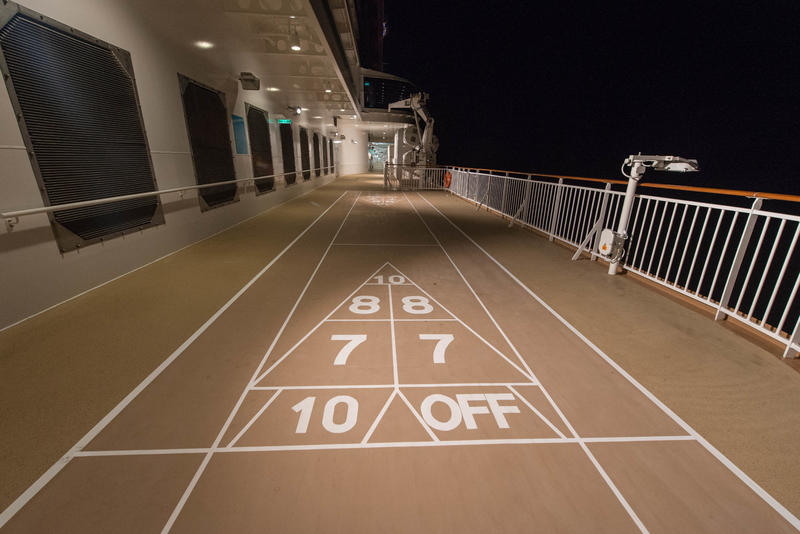 Shuffle Board on Norwegian Escape
