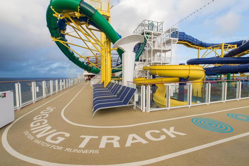 Jogging Track on Norwegian Escape