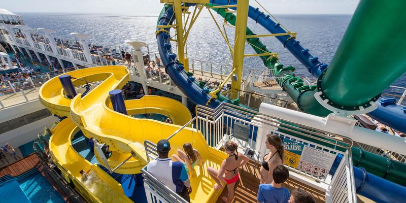 The Aqua Park on Norwegian Escape (Photo: Cruise Critic)