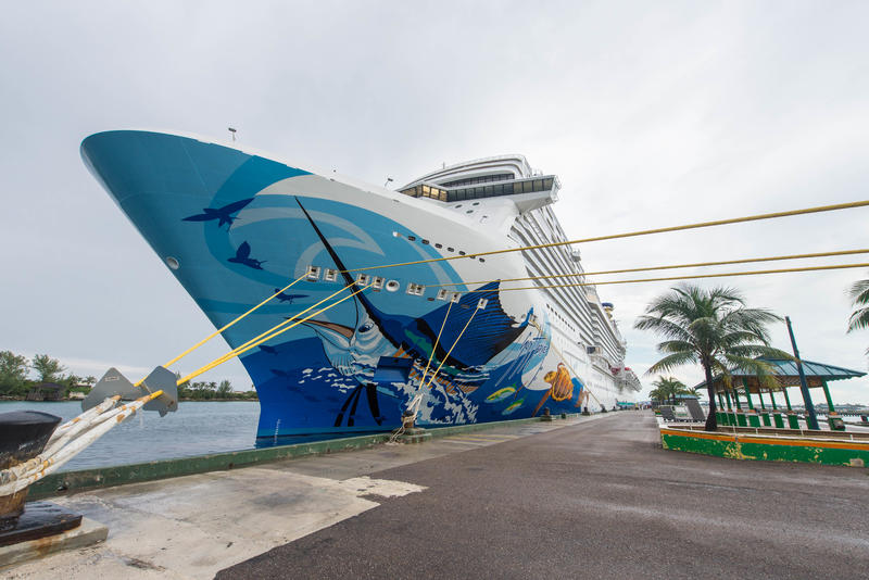 Exterior on Norwegian Escape