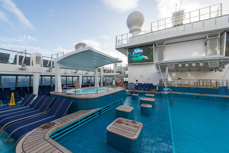 The Pool on Norwegian Escape