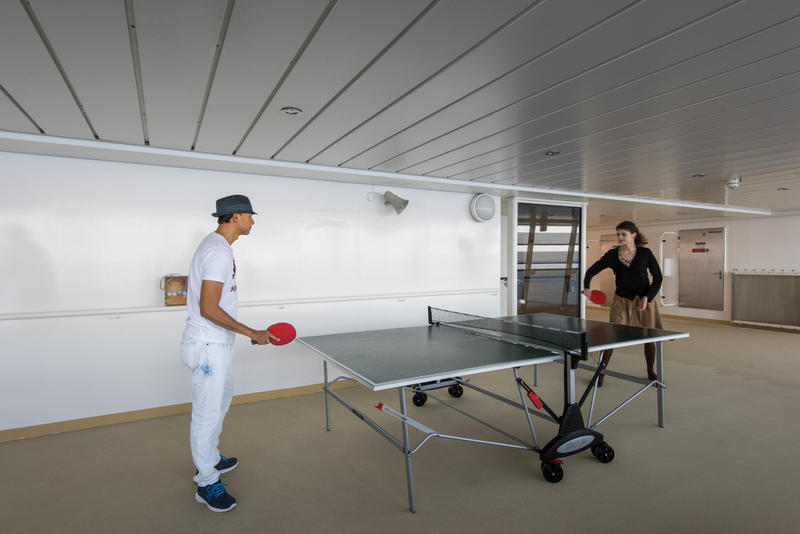Ping Pong Area on Norwegian Epic