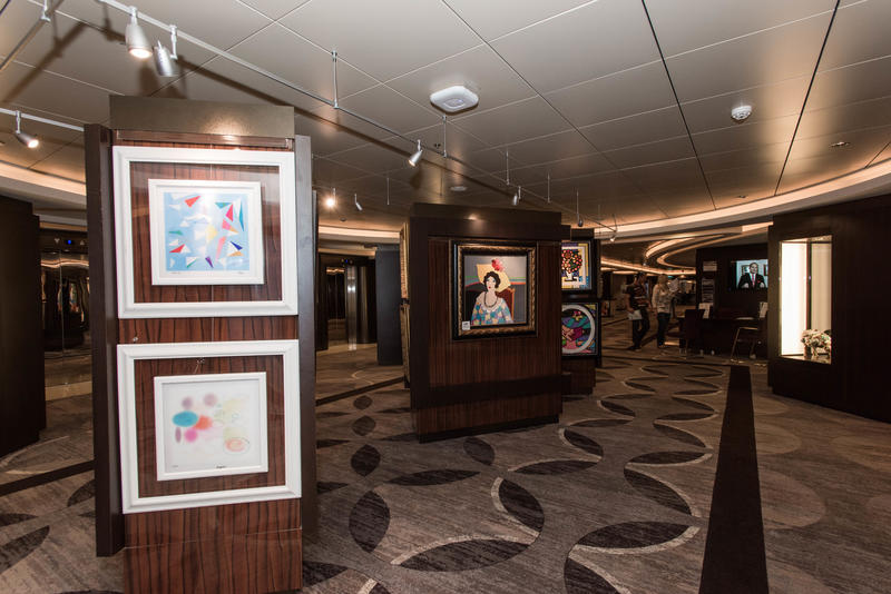 The Collection Art Gallery on Norwegian Epic