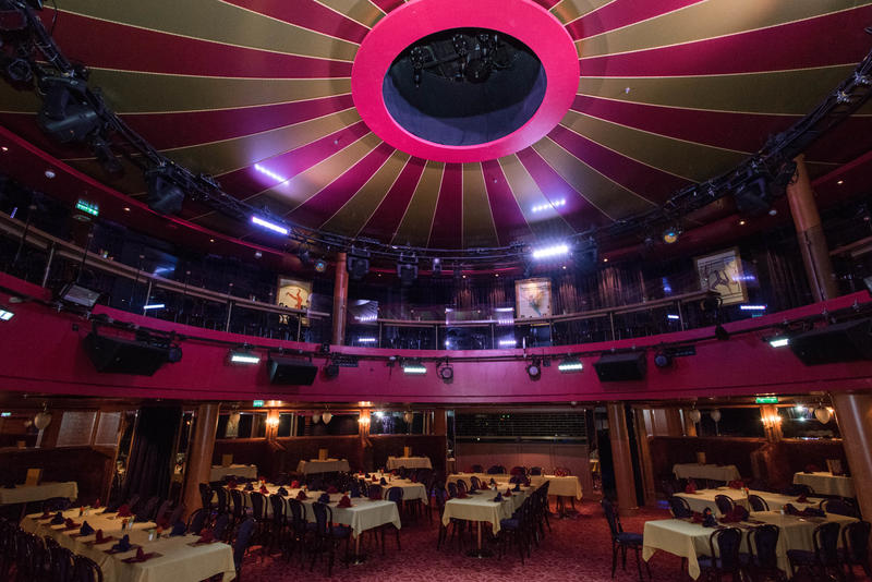 Spiegel Tent on Norwegian Epic