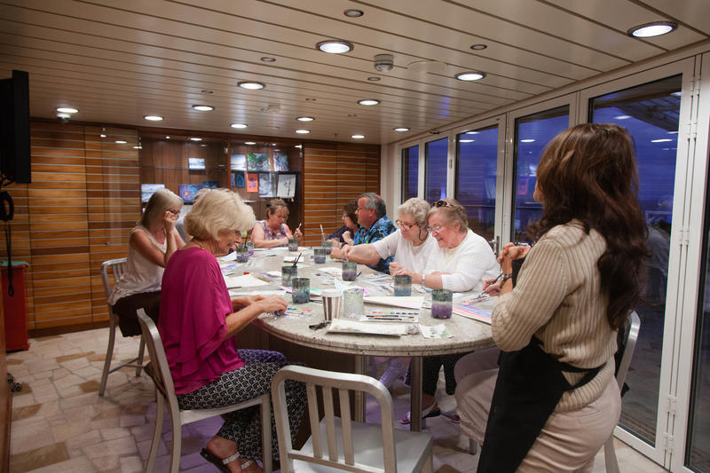 Art Studio on Celebrity Silhouette