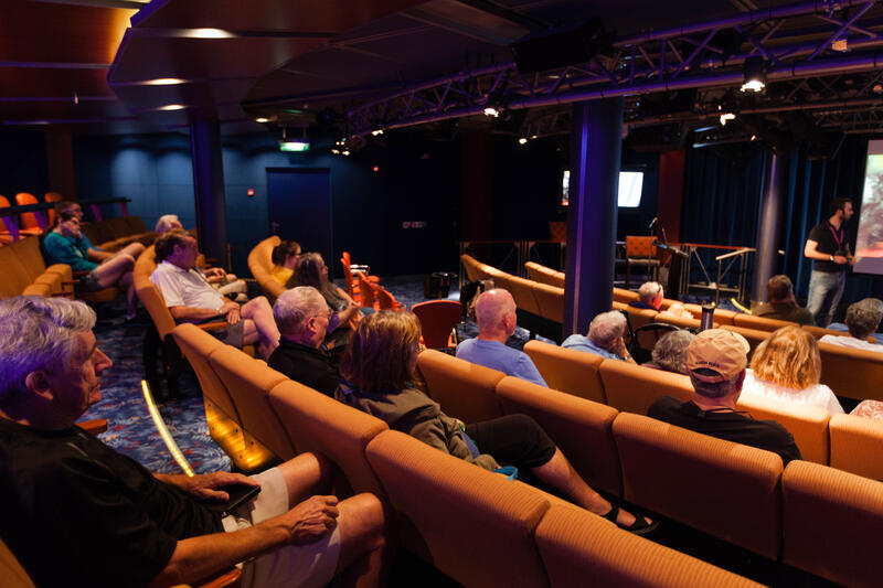 Celebrity Central on Celebrity Silhouette